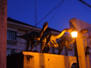Dinosaurs at Intramuros