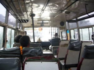 The bus that took me to Fatephur Sikri