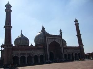 The Mosque at Jama Masjid