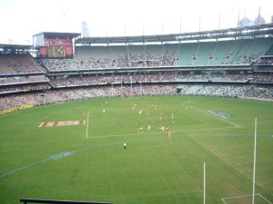 Aussie Rules football @the MCG