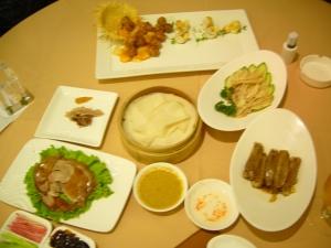My feast of food