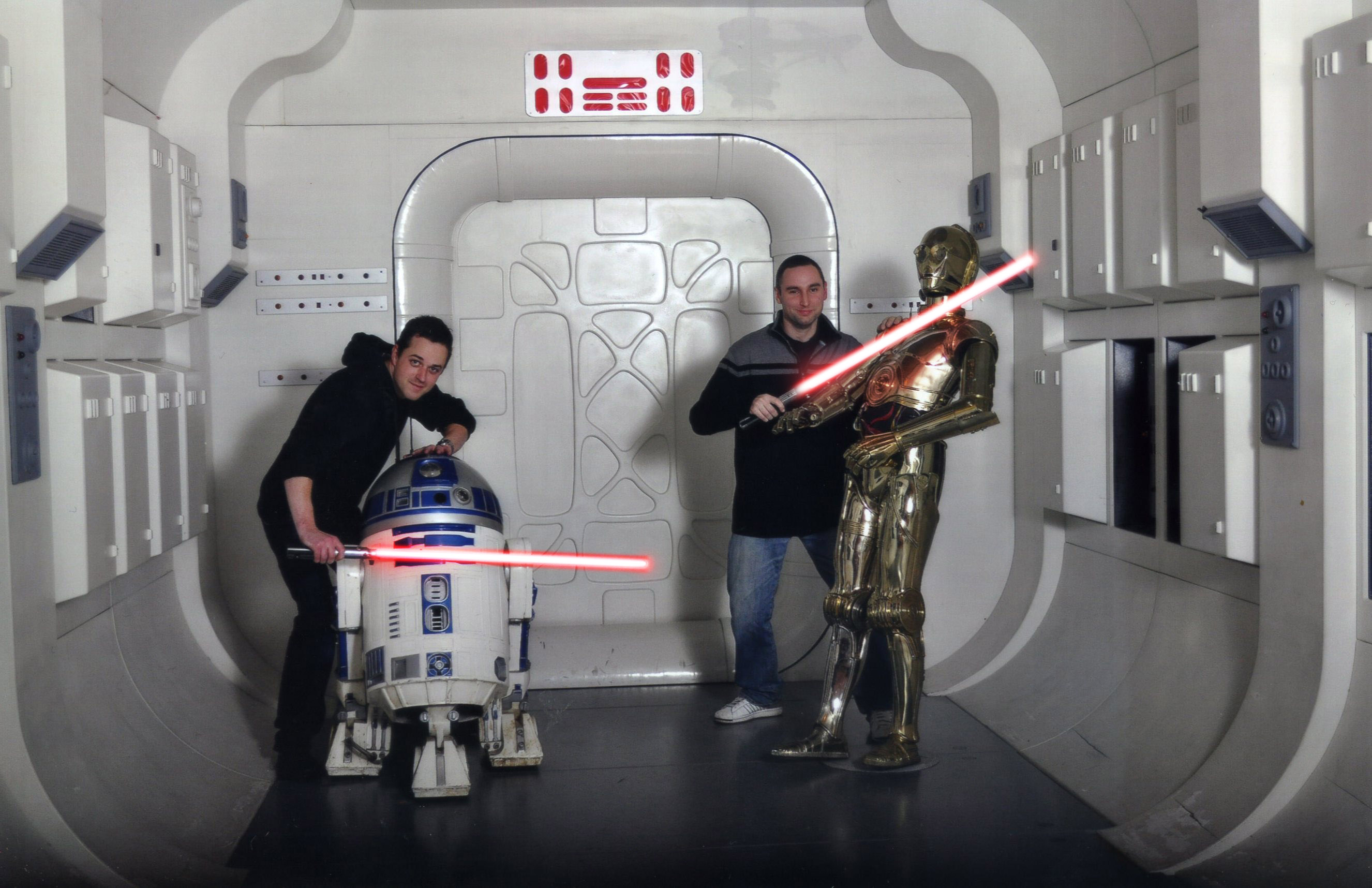 Rebel blockade runner the tantive iv beyond the movies for Star wars museum california
