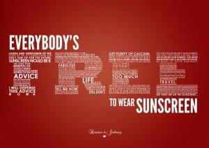 SunscreenPoster