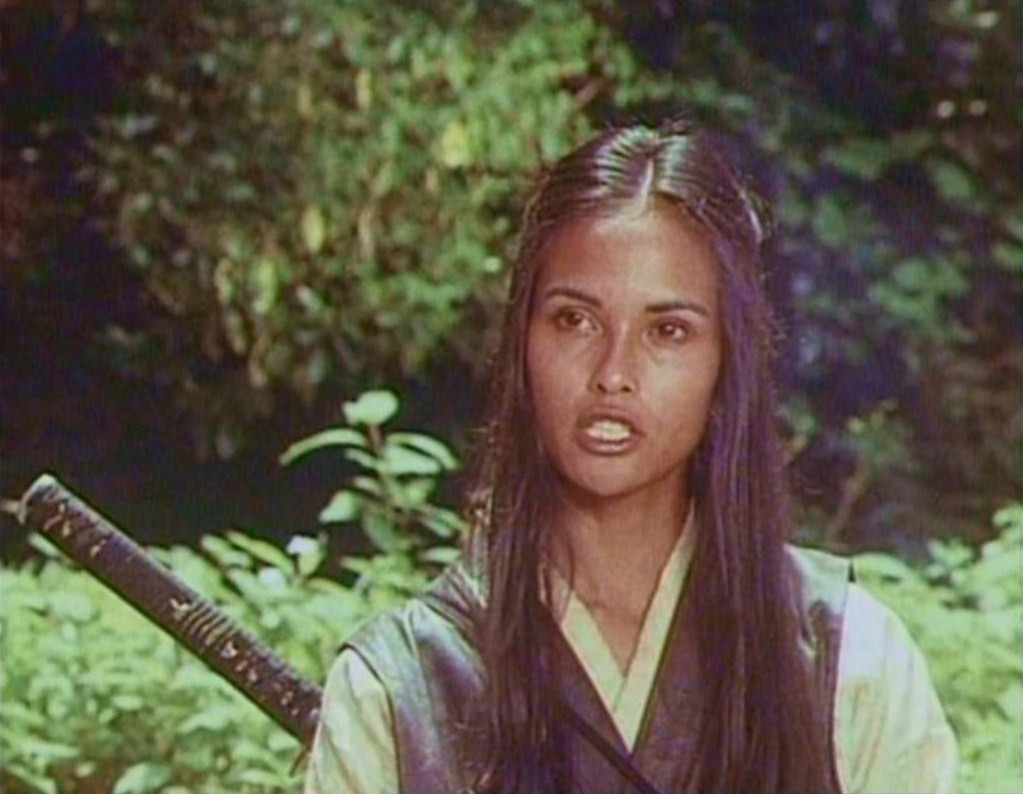 Laura Gemser walk