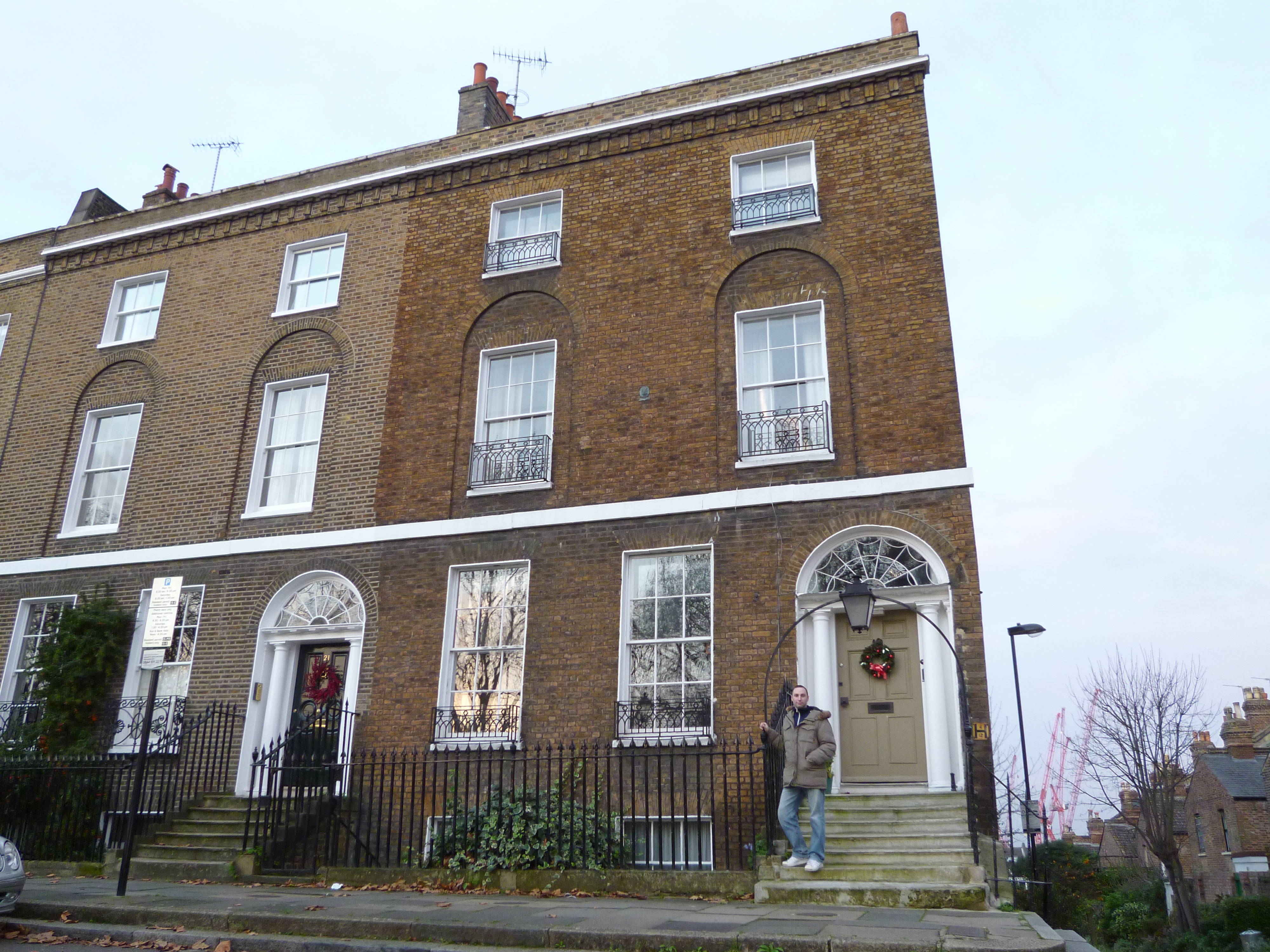 Back to the future marty s home beyond the movies for 10 york terrace east london
