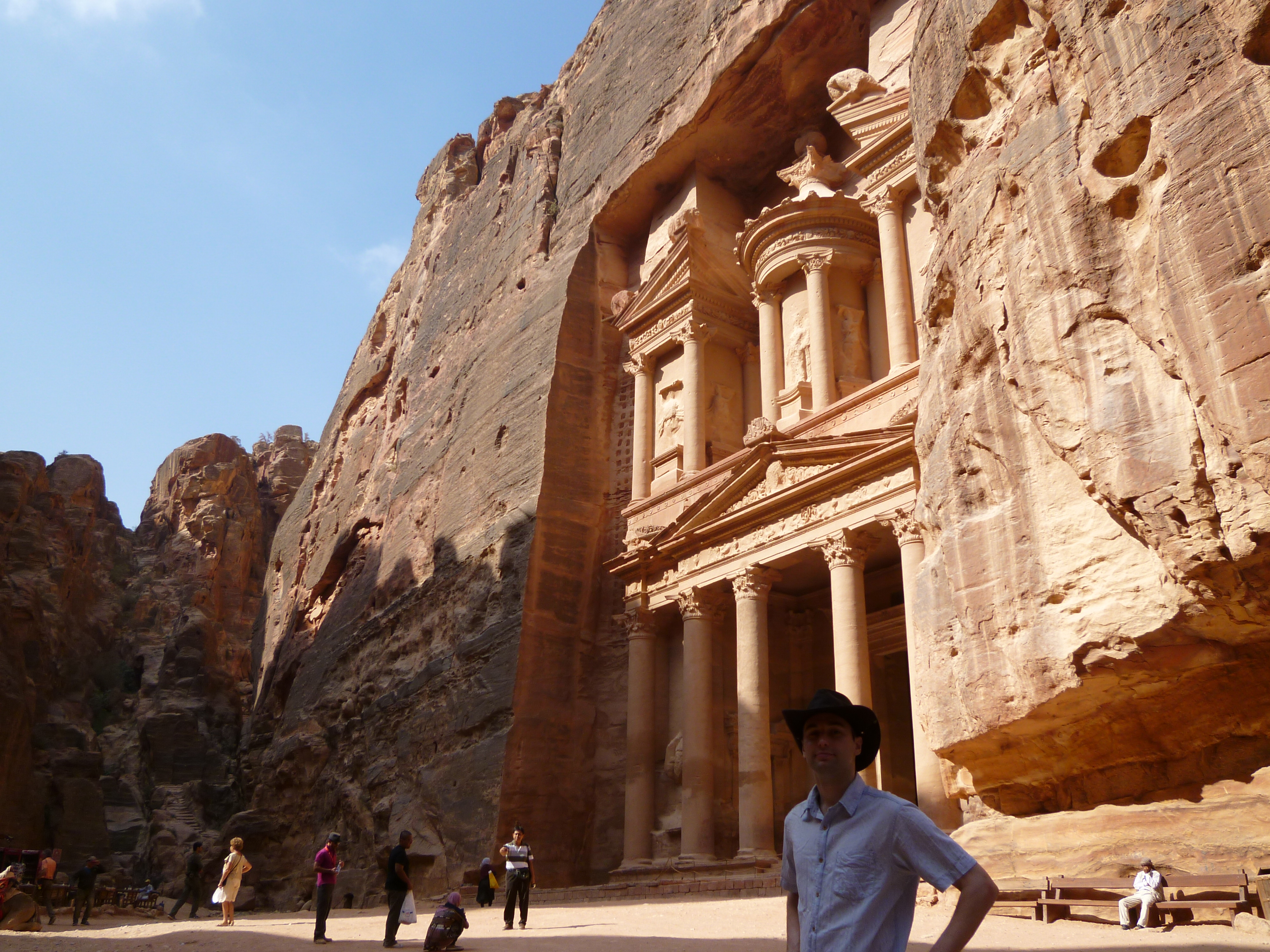 Indiana jones movie in petra