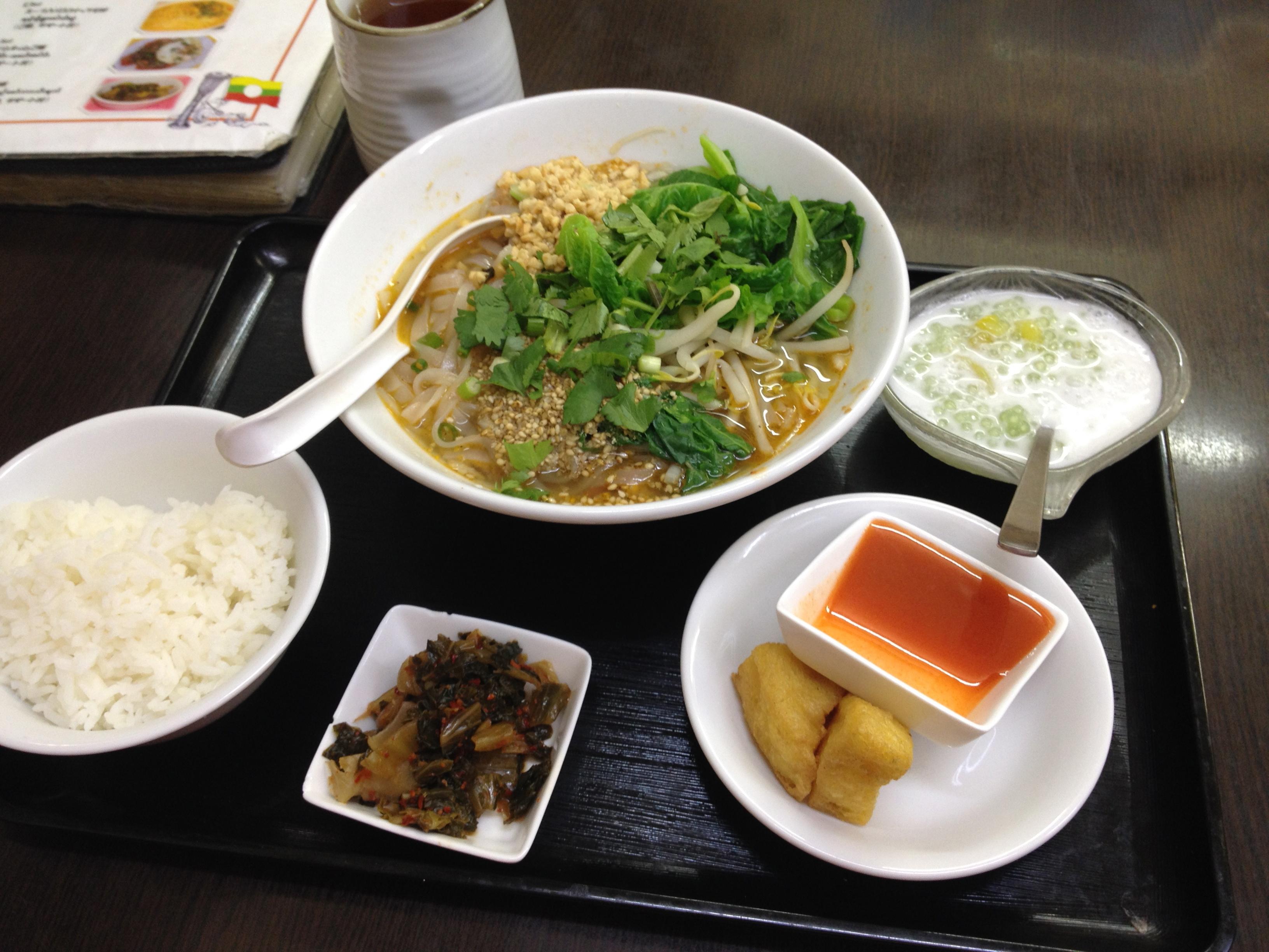 Dining Out Little Myanmar In Takadanobaba Tokyo Fox 東京狐