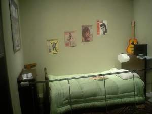 John Lennon bedroom